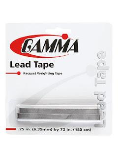 Gamma Lead Tape 1/4 inch