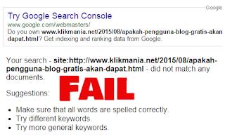 Memperbaiki Kesalahan Saat Menggunakan Fetch AS Google