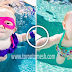 Baby Swimming Underwater - 2 Year Old Baby Swimming in Pool