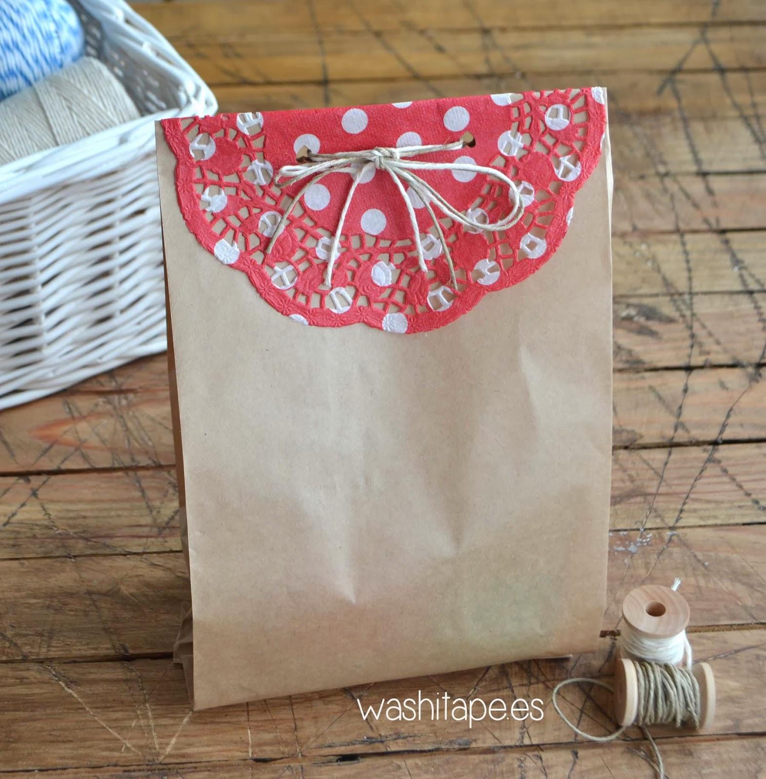Washi tape nuevo producto bolsa de papel - Bolsas para decorar ...