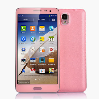 Quad Core Android 4.2 Pink Cell Phone Scribble