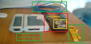 Cara Memasang Kabel LAN | Cara Memasang RJ45 | Cara Memasang Kabel UTP