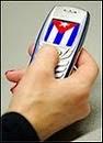 Recargue el movil a un disidente cubano