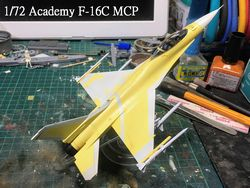 1/72 Academy F-16C MCP