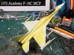 1/72 Academy F-16C MCP