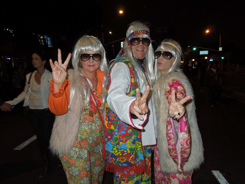 West Hollywood Halloween Carnaval hippies