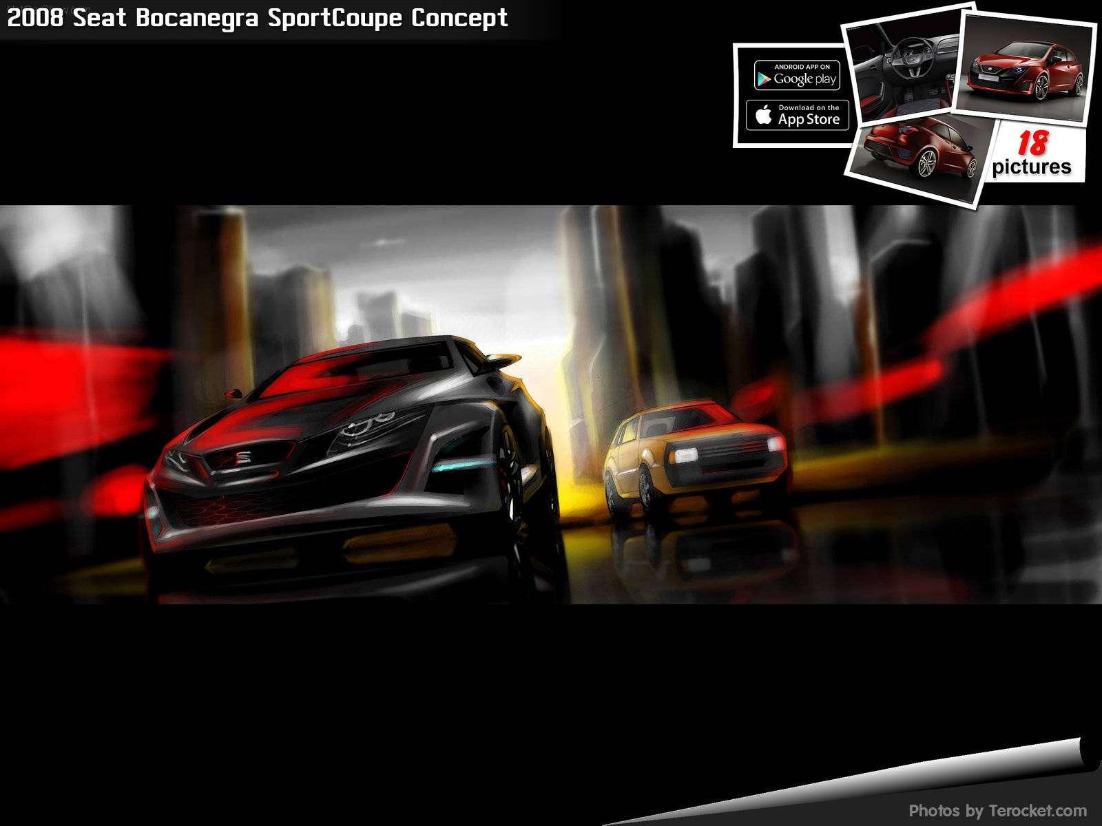 Hình ảnh xe ô tô Seat Bocanegra SportCoupe Concept 2008 & nội ngoại thất