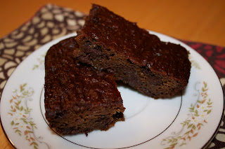 Flourless Chocolate Zucchini Brownies