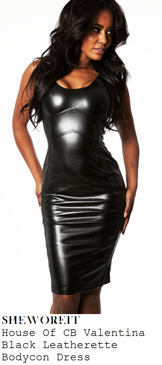 chloe-sims-black-high-shine-pvc-faux-leather-sleeveless-scoop-neck-bodycon-dress