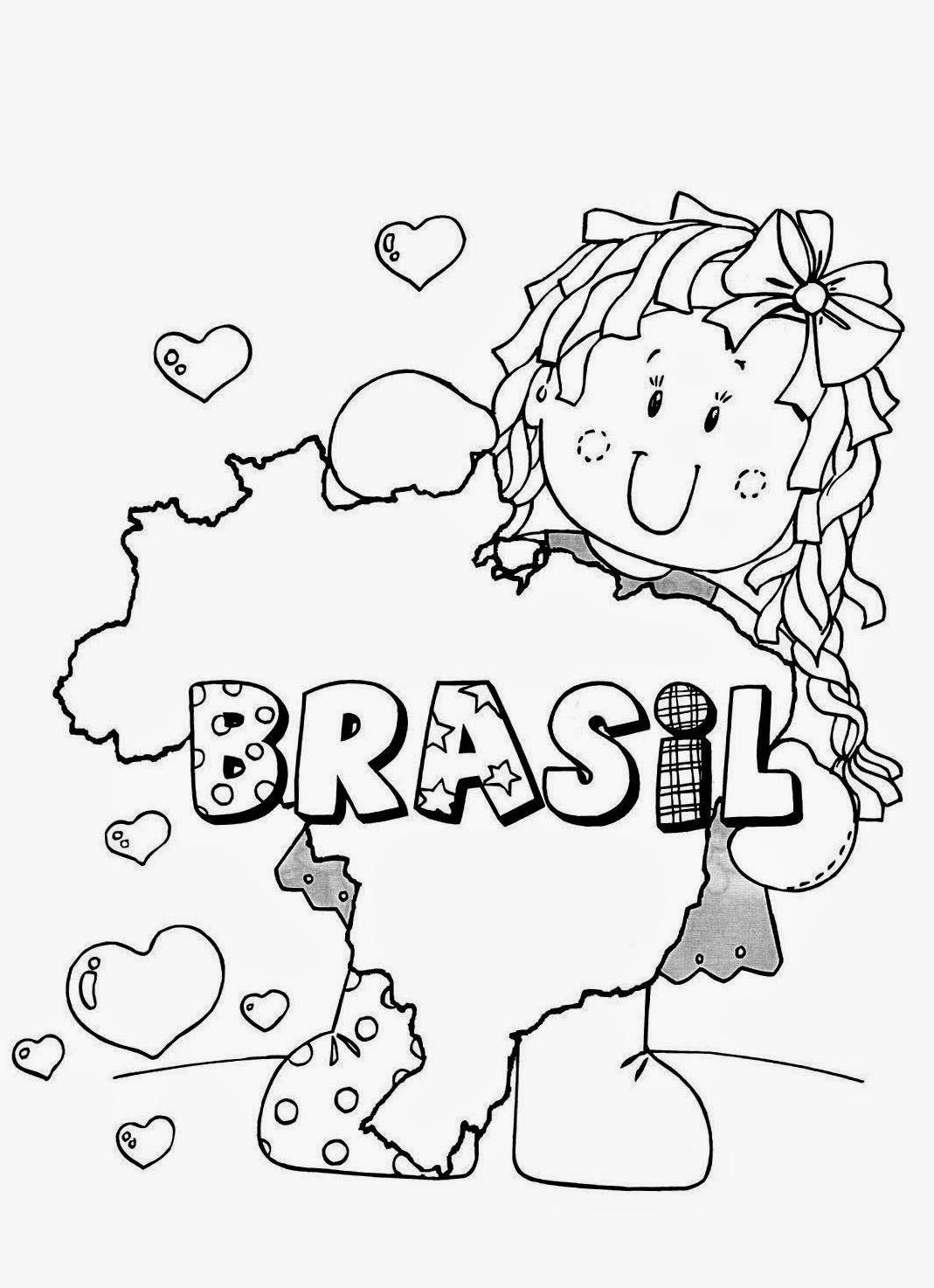 Bandeira do Brasil para Colorir Colorir Online - imagens para colorir bandeira do brasil