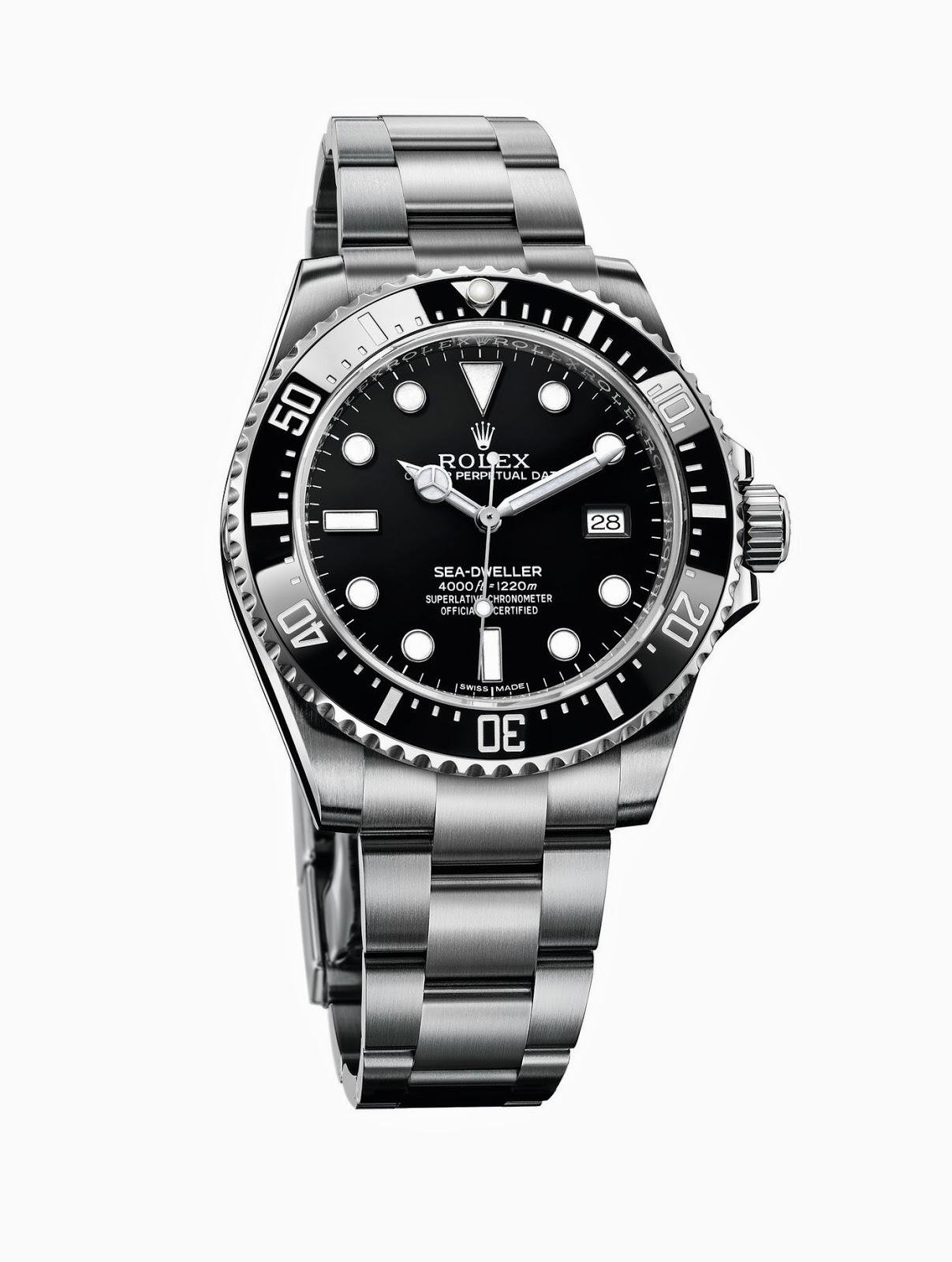 Height of horology rolex sea dweller 4000 ref 116600 for Rolex sea wweller