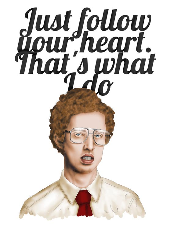 napoleon dynamite follow your heart