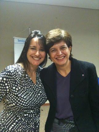 Marta Lança e Eliana Piola - Conferência Temática / Conselho Estadual da Mulhe