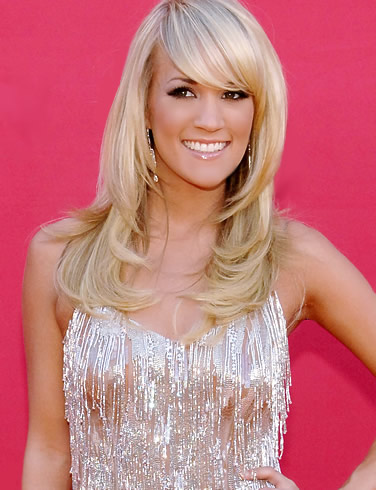 With bang side swept bang hairstyle for hollywood blonde hairstyle for Labels red hair red hair styles red hairstyles