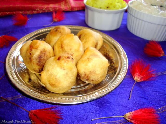 Pesara Pappu Boorelu recipe / Pesara Poornam Boorelu recipe / Moongh Dal Boorelu recipe / Poornam Boorelu With Moong Dal recipe / Pasi Paruppu Suzhiyam