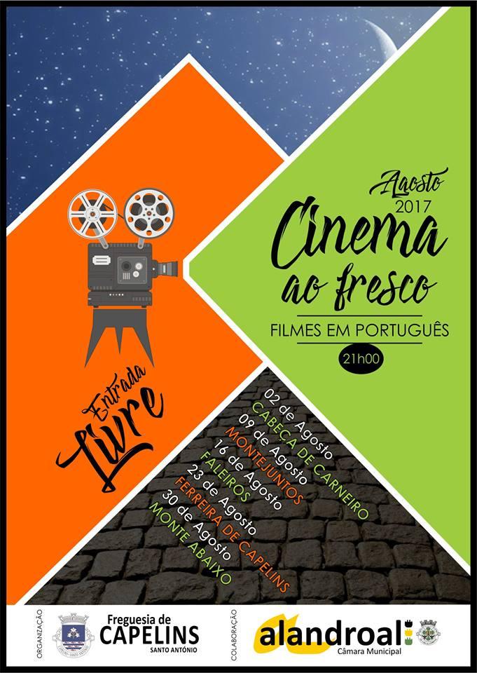 CINEMA AO FRESCO - AGOSTO DE 2017 - FREGUESIA DE CAPELINS (SANTO ANTÓNIO)