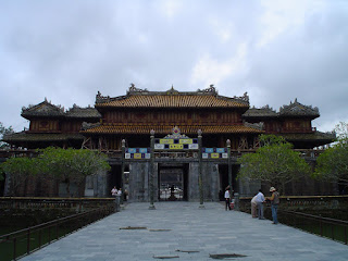 Noon Gate. Imperial City. Hue, Vietnam