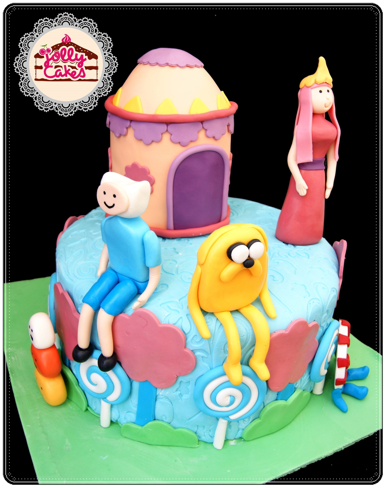 Jolly Cakes Adventure Time Birthday Cake For Gwenn
