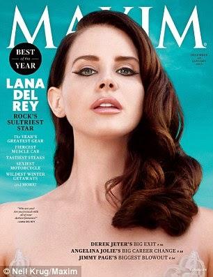 لانا ديل ري  تفوح جاذبية في صور منتظرة لمجلة Maxim