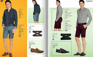 catalogo digital Andrea  ropa caballero verano 2015