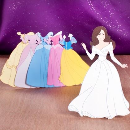 Barbara S Beat Disney Helps Girls Prepare For The Royal Wedding Feel Like Princess Paper Princess Printable