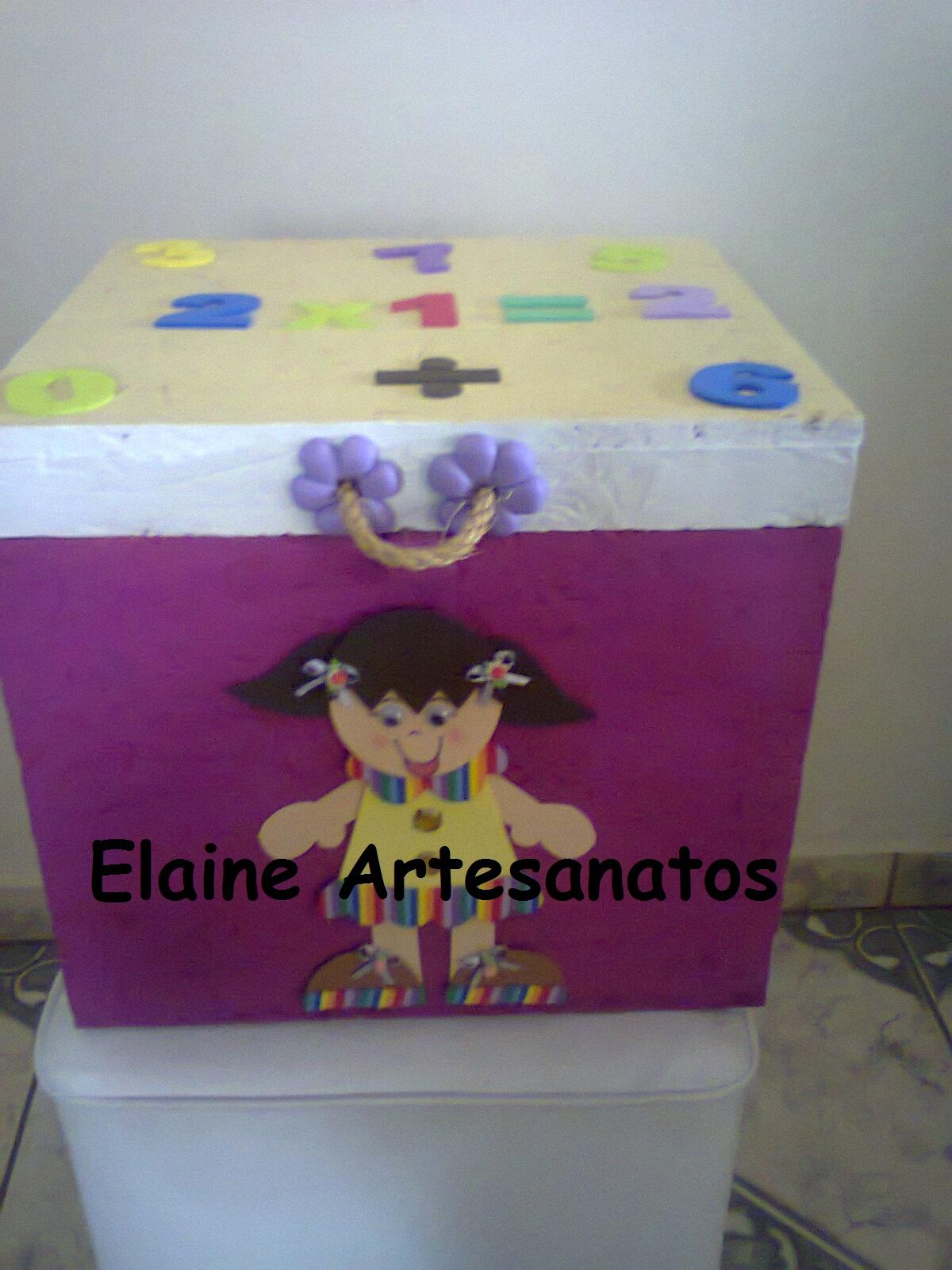 Biscuit: Transformando caixa de aparelho de jantar em baú multiuso #601F46 1200x1600