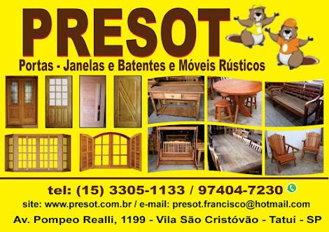 PRESOT Portas - Batentes - Janelas