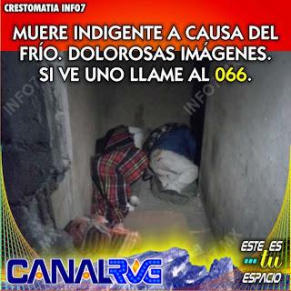 Indigente muere en Monterrey