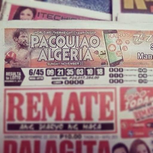 Pacquiao vs Algieri Funny Images