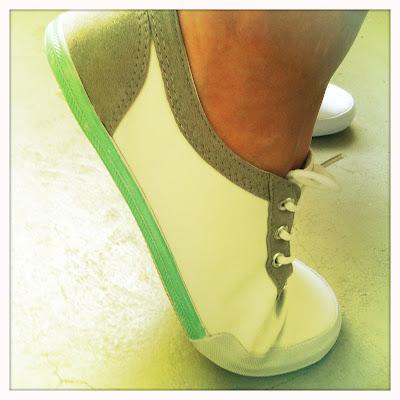DIY Das mach ich selber! Pastell Schuhe