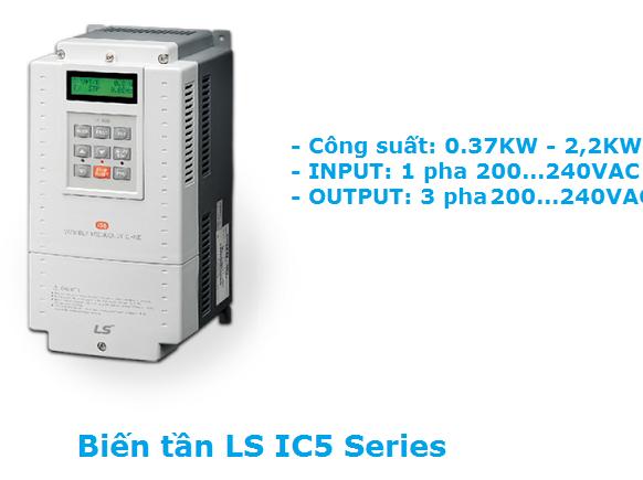Biến tần LS iC5 Series