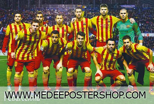 Barcelona 2014 Poster
