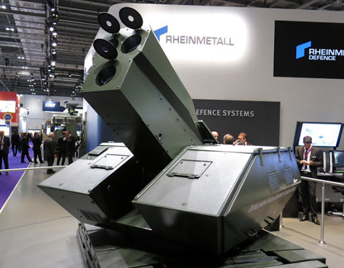 Senjata High Energy Laser Rheinmetall