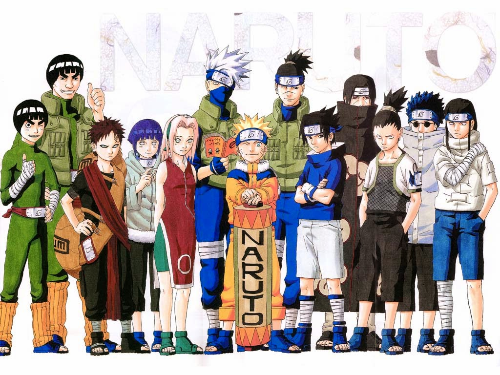 Konoha Ninja Coloring Pages