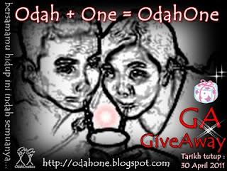OdahOne Giveaway | Bersamamu Hidup Ini Indah Semuanya