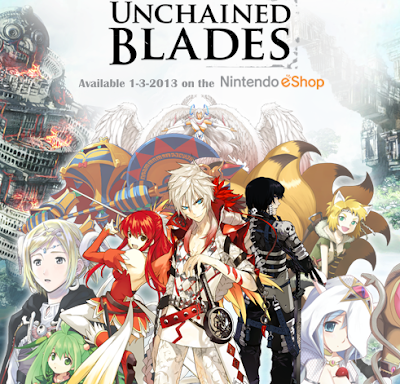 Unchained Blades 3DS eShop