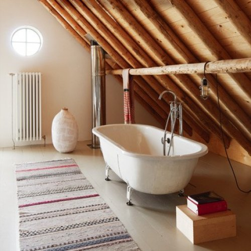 To da loos Slanted ceiling bathrooms. Attic Bathroom Ideas Sloped Ceiling