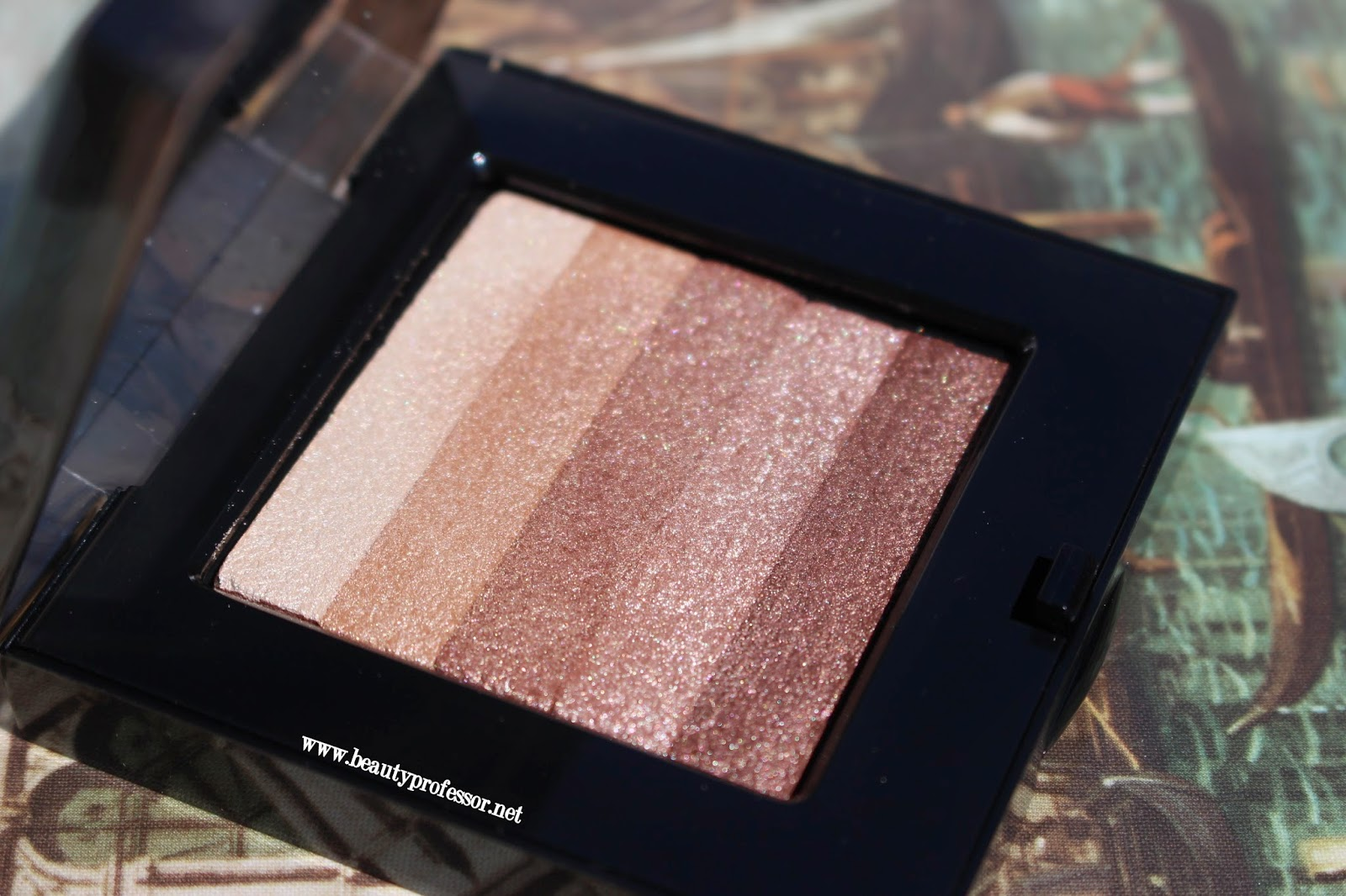 bobbi brown shimmer brick sandstone swatches