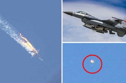 Juruterbang pesawat Russia diselamatkan tentera Syria