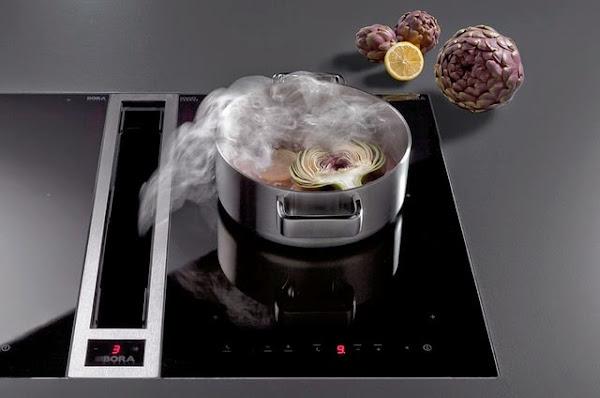 Un extractor integrado en la cocina una alternativa a la - Extractor integrado ...