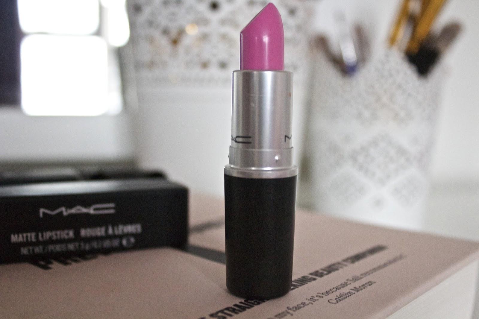 A review of MAC lipstick Saint Germain