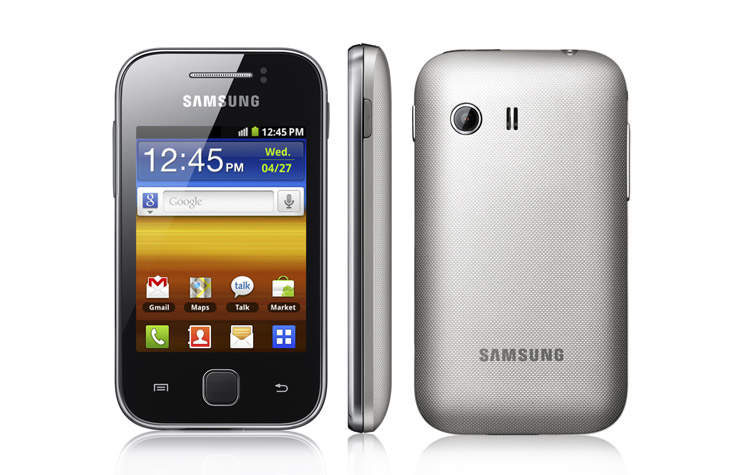 new samsung android smartphone the samsung galaxy y young s5360