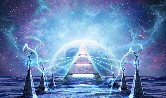 Pirâmide astral negativa, energia astral nas piramides