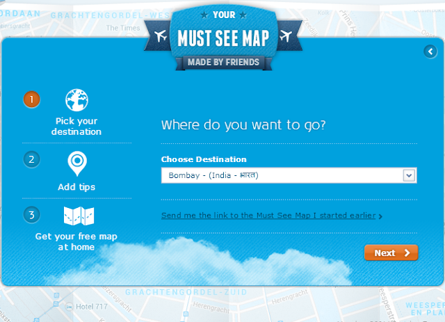 Get Free Personalized City Maps