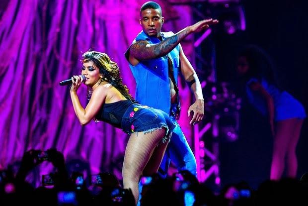 Anitta apresentou em São Paulo seu DVD ao vivo