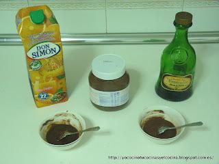 ingredientes para relleno de bombones