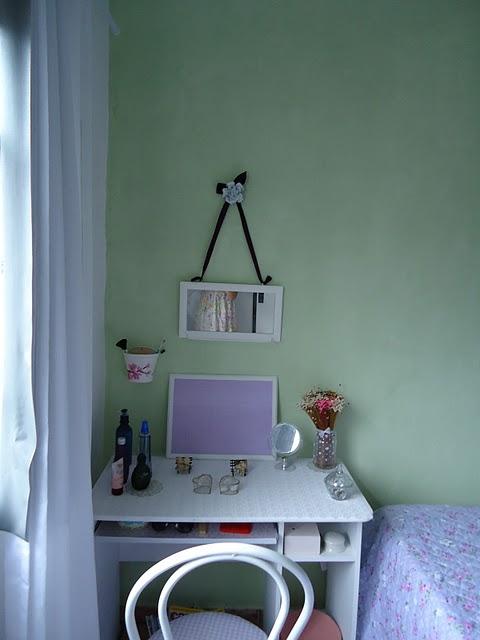 CasinhaQuerida Ideias para as cores das paredes do quarto  ~ Quarto Verde Malva