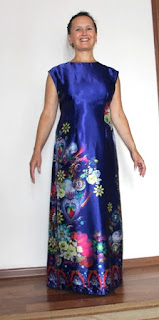 Концертное платье из шелка