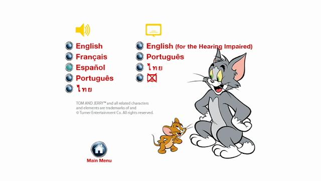 Tom and Jerry Cuentos De Navidad DVDR NTSC Español Latino