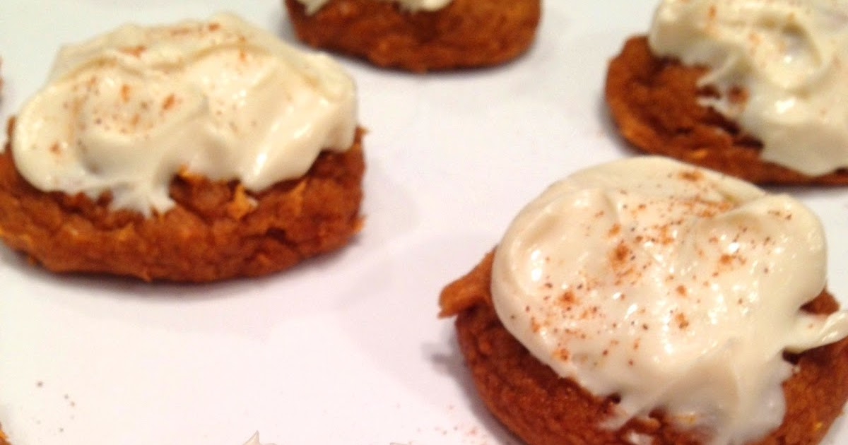 A Healthy Makeover: Pumpkin Spice Cookies with Maple Cream ...